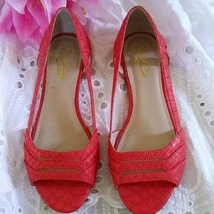 Seychelles shoes/coral